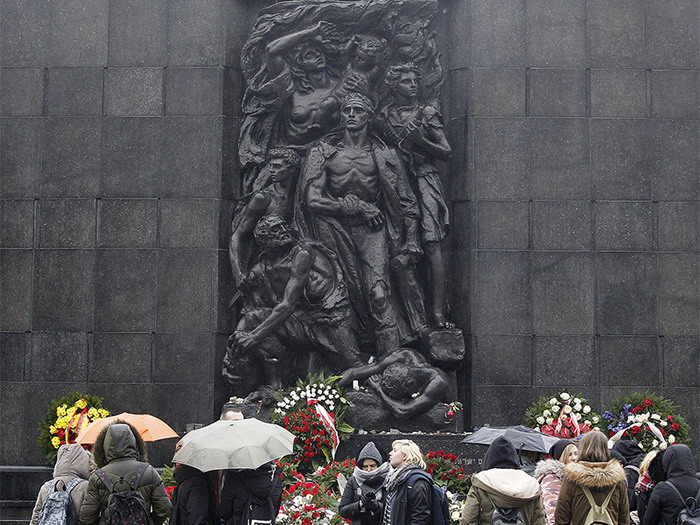 2018 09 Warsaw Ghetto Memorial